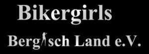Logo Bikergirls Bergischland